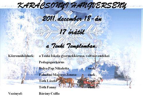 Karácsonyi hangverseny 2011.